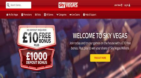 Sky Vegas Games