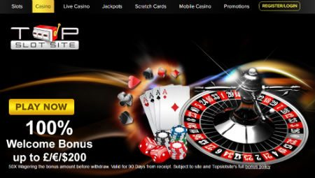 The slots and games world