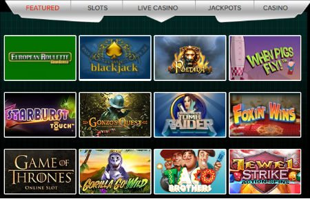 Mobile Casino Free Welcome Bonus £5 FREE