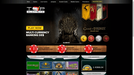 Top Casino Sites Slots