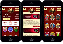 Play Slotmatic Games on your Phone