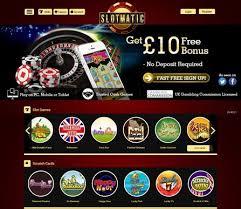 Free Bonuses at Slotmatic Mobile