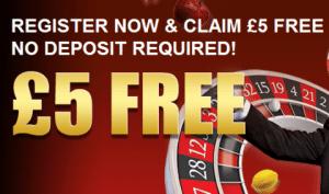 No Deposit free bets