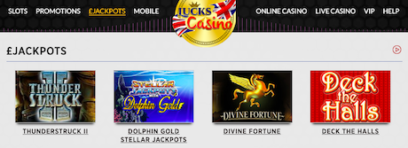 top phone slots games UK