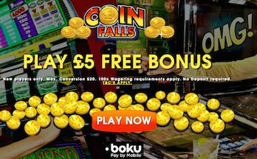Coinfalls UK Casino Site