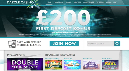 Dazzle Casino Games
