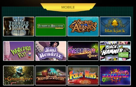 instant win free mobile slots