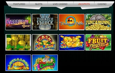 Instant win slot machine games