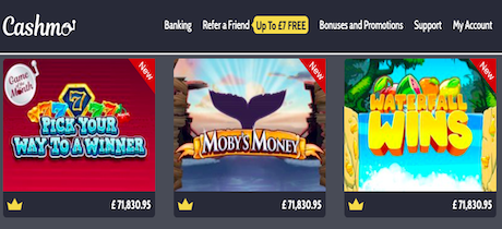 cashmo casino mobile slots